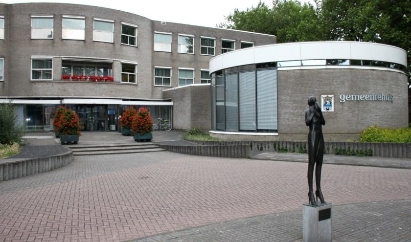 • Het gemeentekantoor in Lekkerkerk.