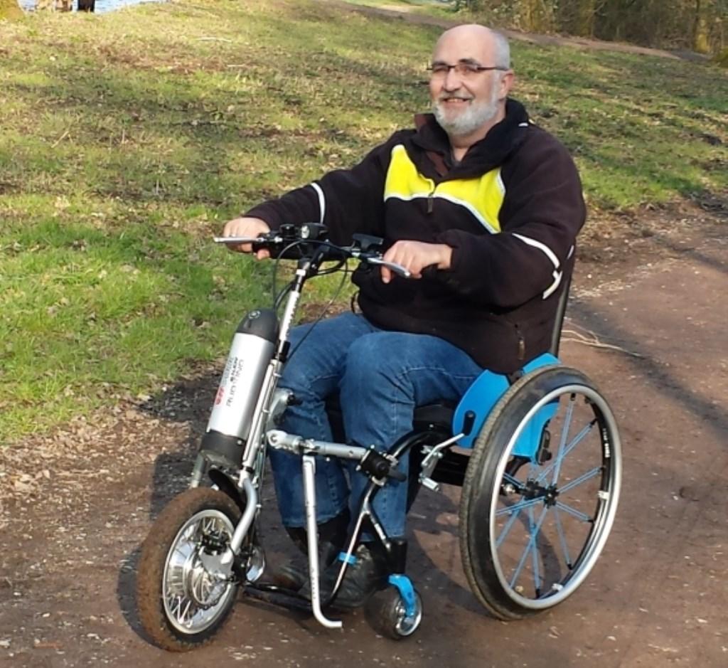 • Eric Grip hoopt dat ook sportclubs willen nadenken over de belangen van mensen met een beperking. Foto: Aangeleverd © Alblasserwaard
