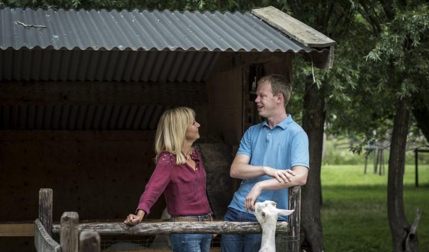 • Willem in gesprek met Yvon Jaspers.