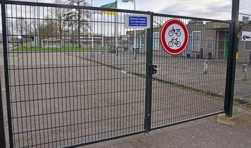 • Op sportpark Blankensteijn was het zaterdag een oase van rust.