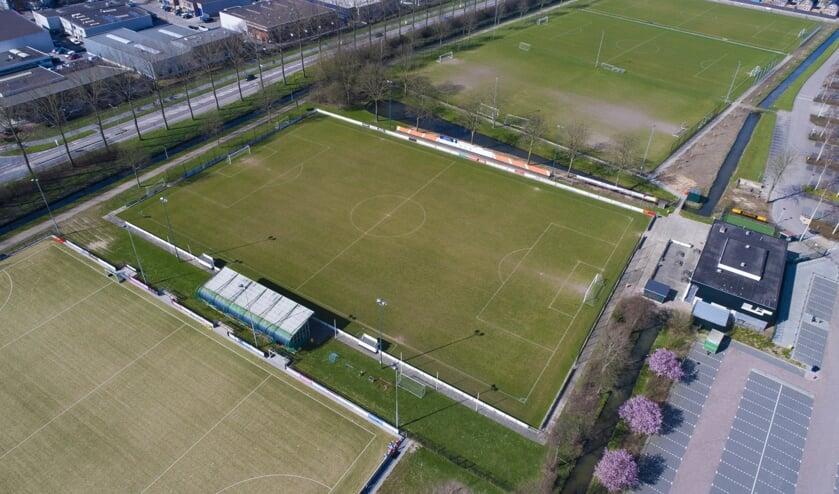 <p>&bull; Beeld van sportpark Souburgh tijdens de lockdown in maart.</p>