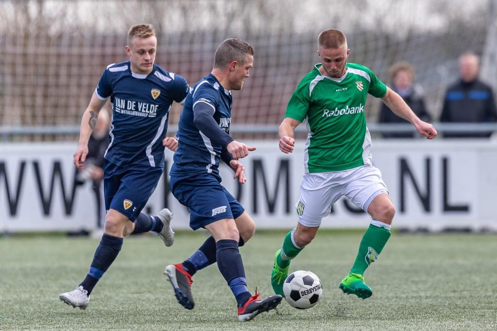 • Nieuw-Lekkerland - Kloetinge (3-0). Foto: Peter Verheijen © regiosport