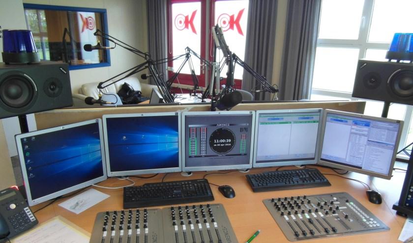 • De studio van RTV Krimpenerwaard.