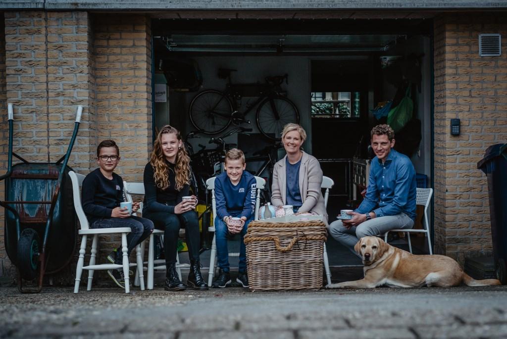 • Familie Den Hollander. Foto: Jan Verburg © Krimpenerwaard