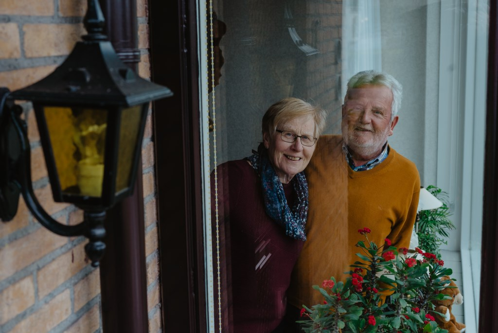 • Rinus en Tonny Brouwer. Foto: Jan Verburg © Krimpenerwaard