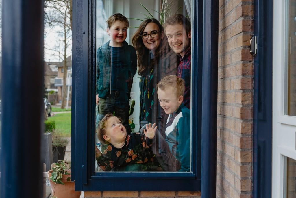 • Familie Simons. Foto: Jan Verburg © Krimpenerwaard