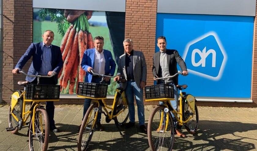 De Albert Heijn en de twee Jumbo-supermarkten in Krimpen aan den IJssel starten met een gezamenlijke boodschappenservice.