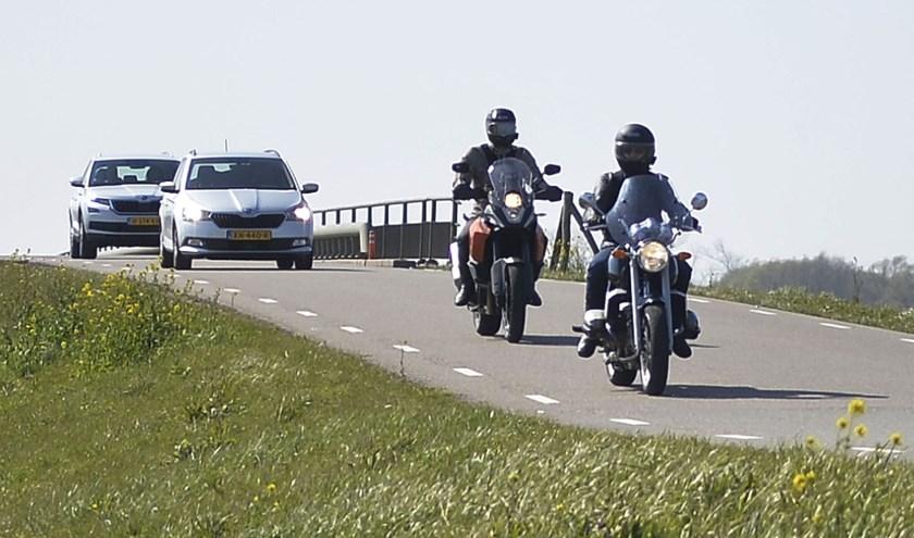 Een beeld van afgelopen weekend uit de Biesbosch.