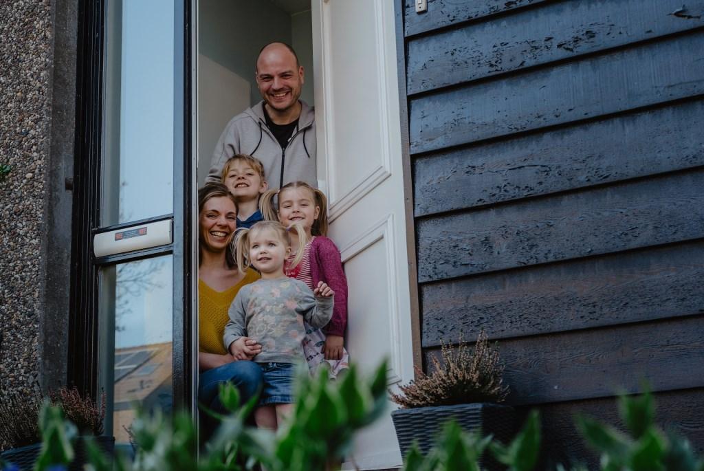 • Familie De Jong. Foto: Jan Verburg © Krimpenerwaard