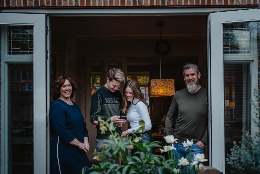 • Familie Jansen. Foto: Jan Verburg © Krimpenerwaard