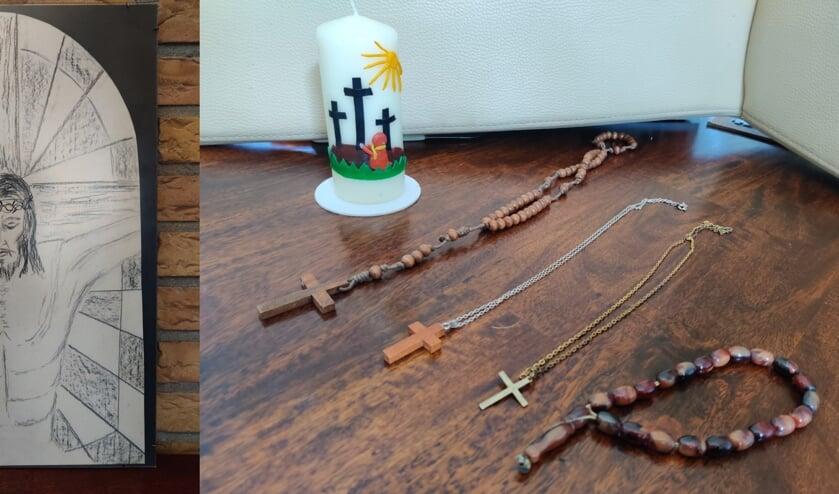 • Een afbeelding bij één van de bijdragen van gemeenteleden van Lux Mundi.