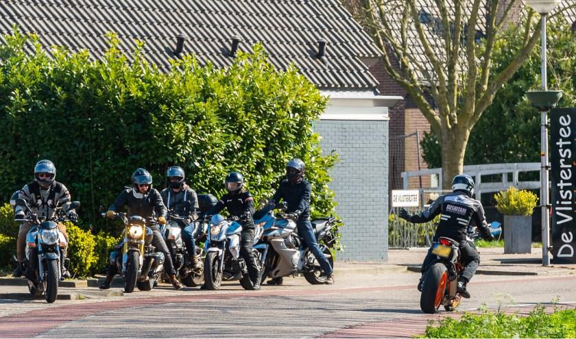 • Vooral motorrijders lieten zich afgelopen weekend zien én horen.