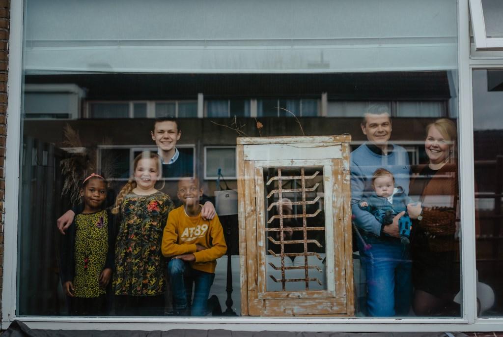 • Familie Van Delft. Foto: Jan Verburg © Krimpenerwaard