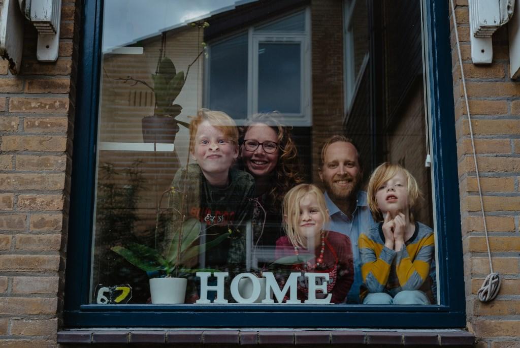 • Familie Van der Ham. Foto: Jan Verburg © Krimpenerwaard