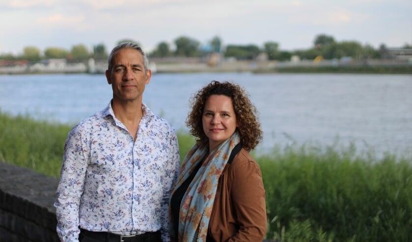 • Karel Spitsbaard en Brenda van Duren.