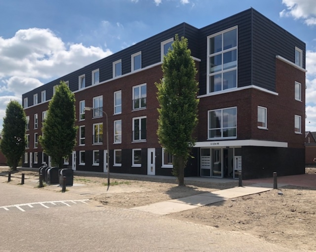 • Appartementen (Beng) complex, fase 2. Foto: Aangeleverd, archief 2017 © Leerdam