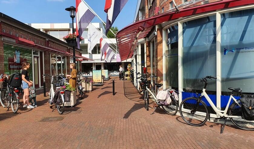 • Het winkelcentrum van Lekkerkerk: straks nóg modischer.