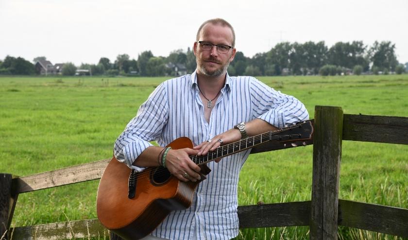 • Zanger/gitarist Jeroen Janssen.