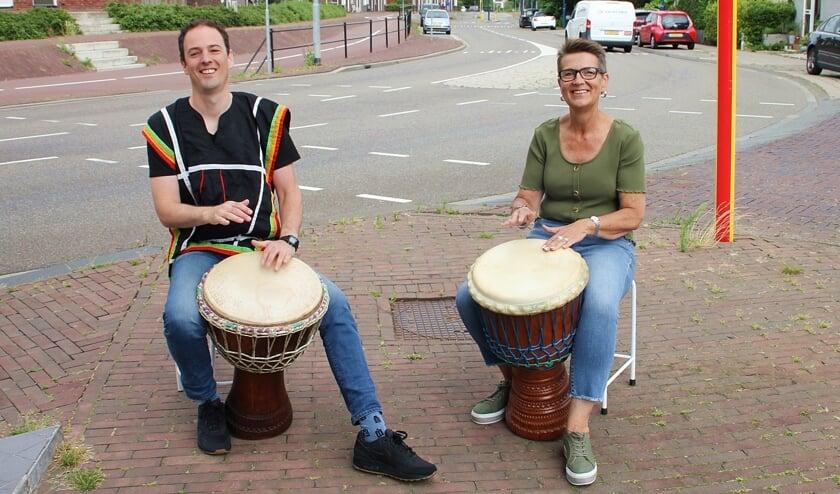 • Niels Fleurke en Gonnie Verboom.