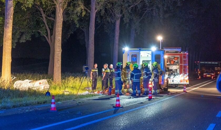 • Ongeval met dodelijke afloop op de N214 bij Bleskensgraaf.