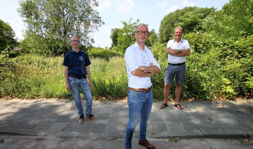 • Initiatiefnemers nieuwe wijk in Krimpen aan den IJssel.