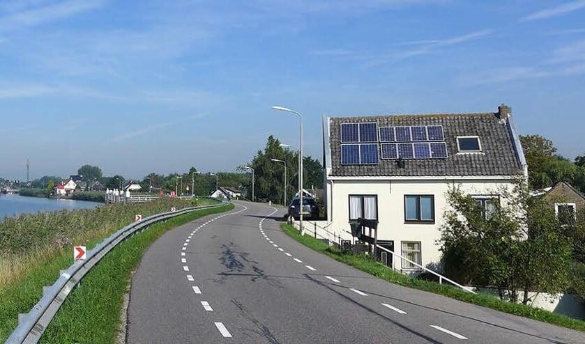 • Dijk langs Hollandsche IJssel.