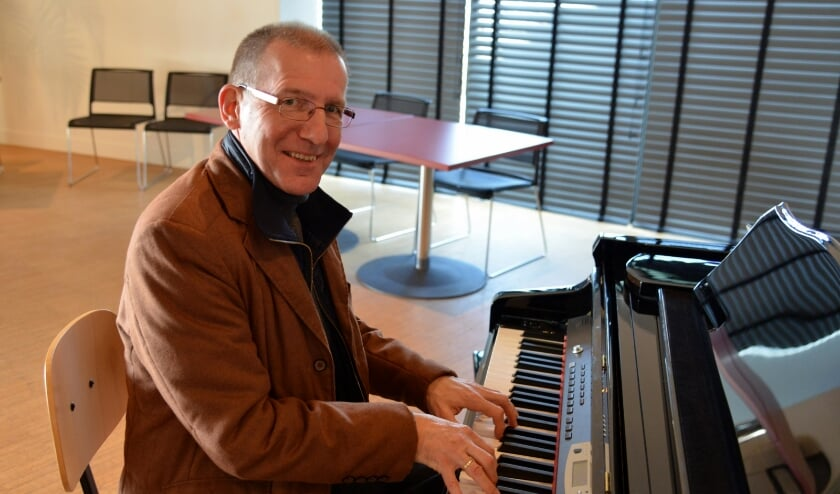 • Pianist en muzikaal leider Martin Boskamp.