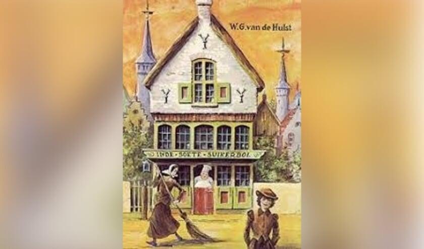 • De voorkant van het boek In de Soete Suikerbol van W.G. van de Hulst.