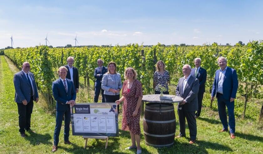• De samenwerkende partners van Regio Deal FruitDelta Rivierenland.