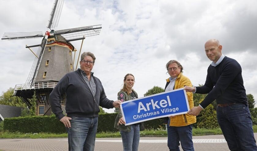 • Hans Wijnhoff, Rachelle Metz, Jan Krol en Bert van Meteren.