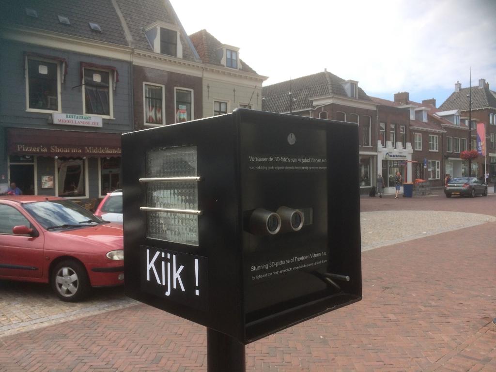 • 3D-kijkkast bij Stadhuis Vianen Foto: Job van de Groep © Vianen