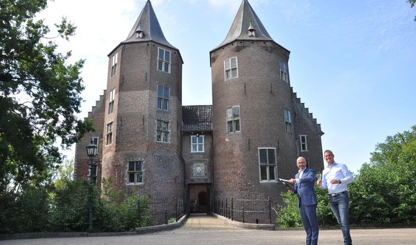 Links Klaas van Leengoed, rechts Niek van Lieverloo.