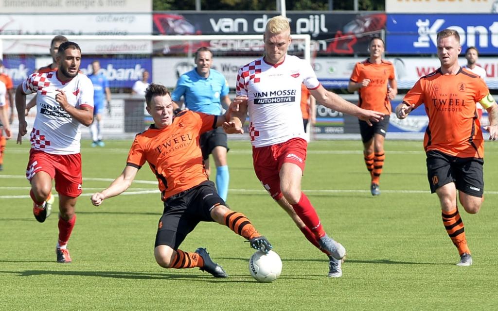 • Kozakken Boys - Sparta Nijkerk (3-5). Foto: Teus Admiraal © regiosport
