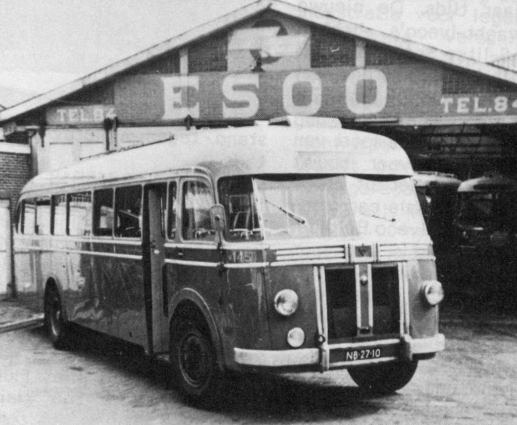 Crossley-bus van de NV Eerste Sliedrechtse Omnibus Onderneming (ESOO). Foto: Aangeleverd © Klaroen
