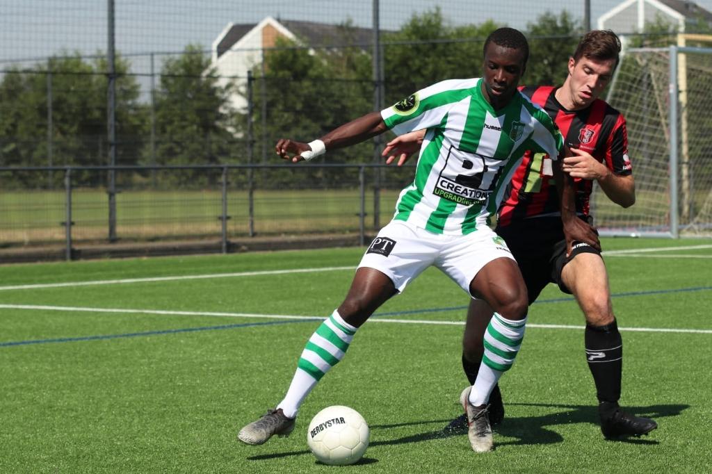 OJS Rosmalen - Achilles Veen (2-4). Foto: Gerald van Zanten © regiosport