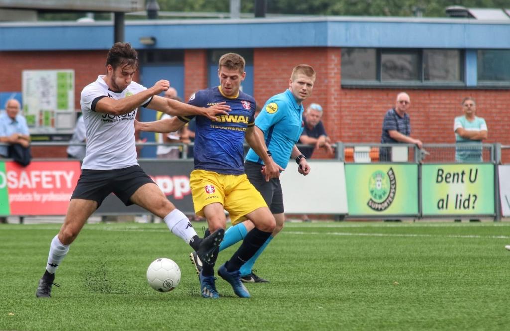 ASWH - FC Dordrecht (1-0). Foto: Gerald van Zanten © regiosport