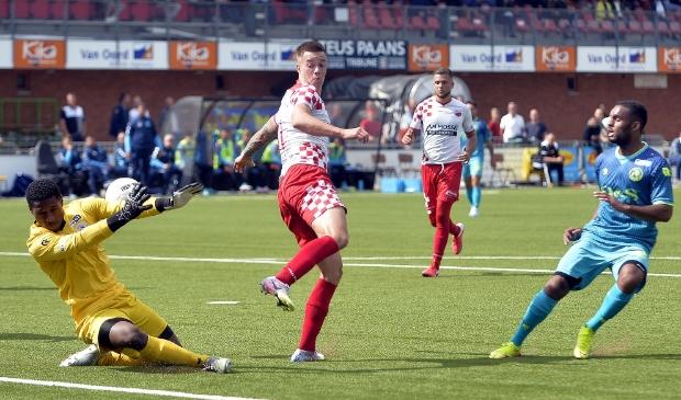 • Kozakken Boys - Jong Sparta (1-3). Foto: Teus Admiraal © regiosport