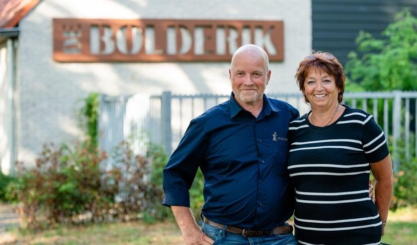 <p>Beheerders Jan en Wilma Abbring van De Bolderik.</p>