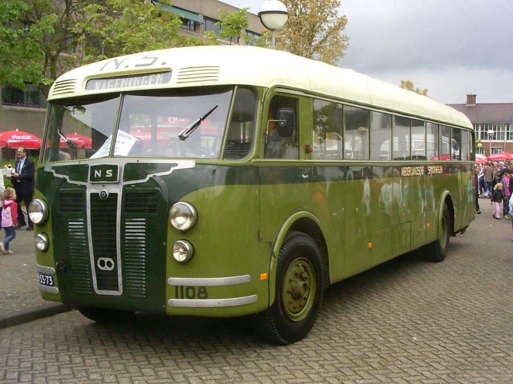 Een nog rijdend exemplaar van het type Aviolanda-Crossley is in het bezit van de Stichting Veteraan Autobussen. Foto: Aangeleverd © Klaroen