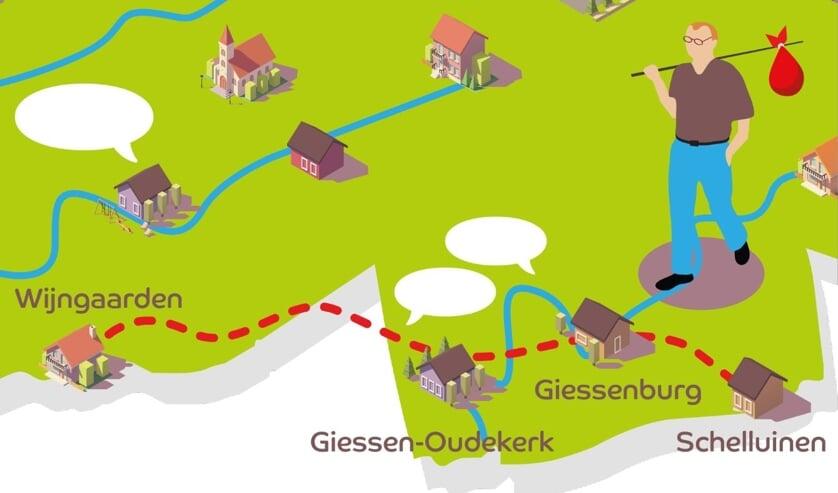 Etappe 4: Van Schelluinen naar Wijngaarden