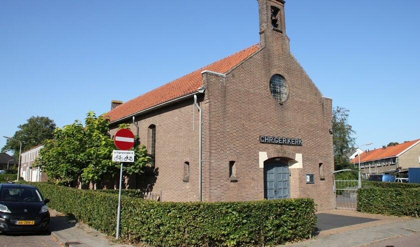 <p>• Buurthuis De Pion, waar vroeger de Christelijk Gereformeerde kerk in gehuisvest was.</p>