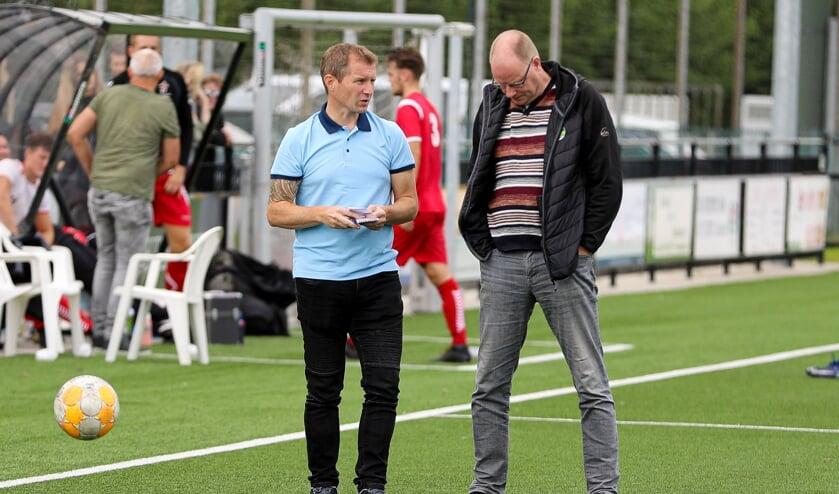<p>• SV Noordeloos-trainer Raymond Sponselee</p>