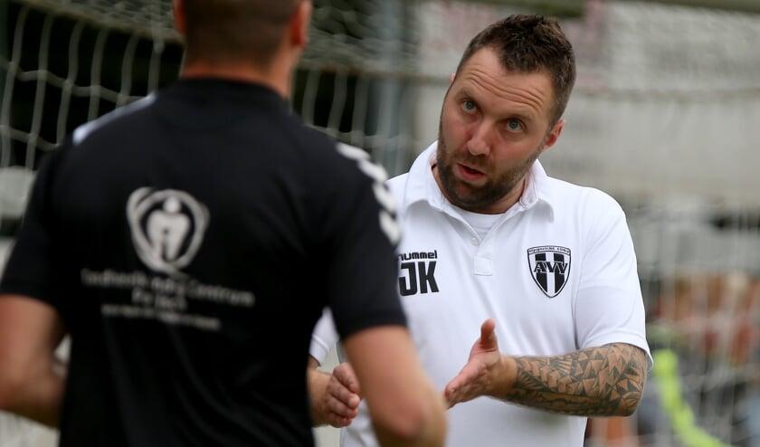 <p>&bull; Jeffrey Kleijn: nu hoofdtrainer van Asperen.</p>