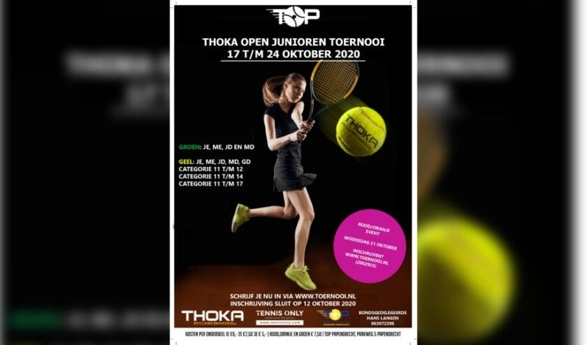afbeelding Thoko TOP Open juniorentoernooi