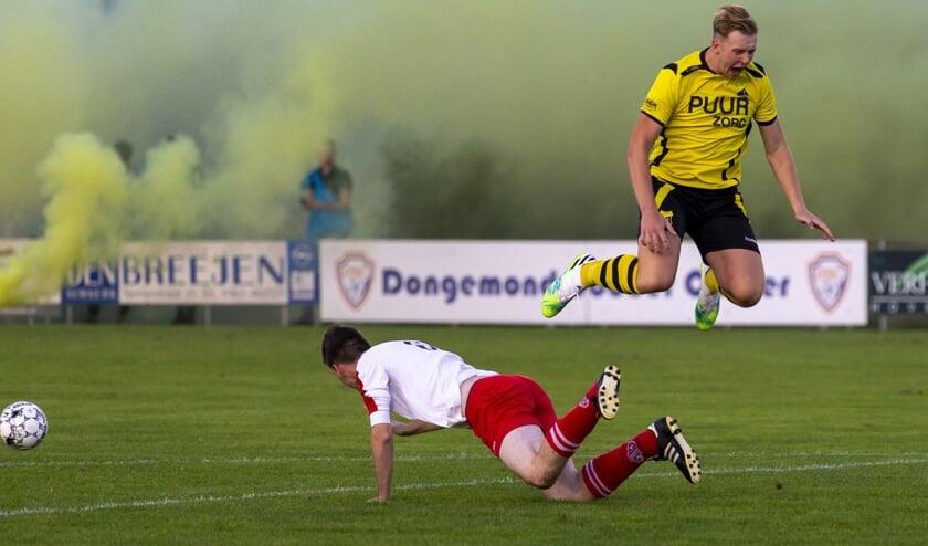 • Be Ready speelde afgelopen week de bekerderby tegen Dussense Boys.