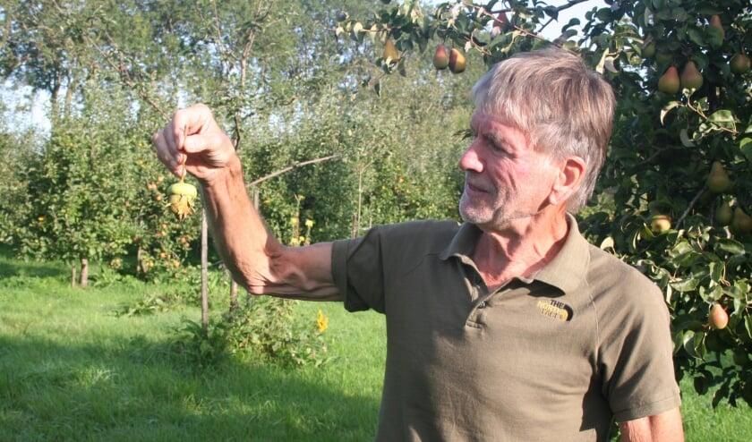 • Bart Pijnenburg geniet van een mooie krenkelaar.