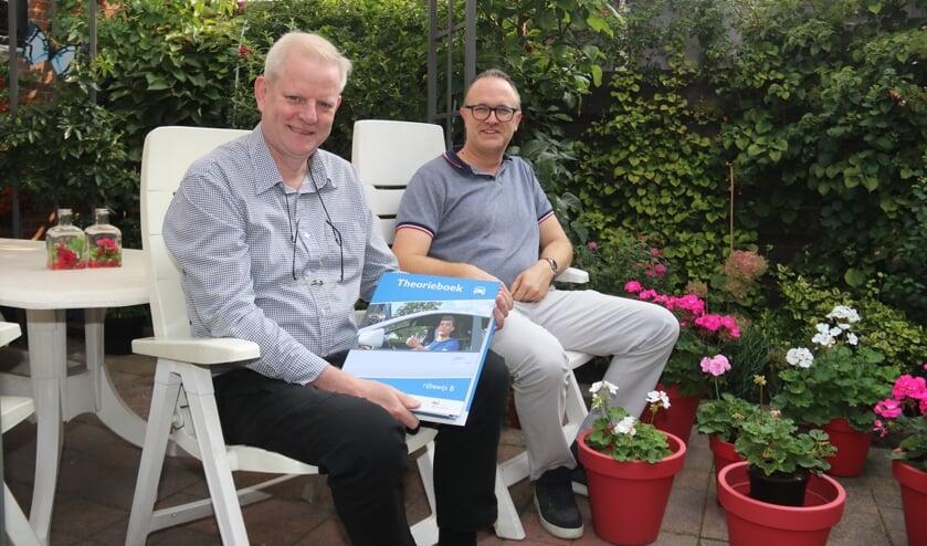 • Otto Buitendijk (l.) en Theo van Helden.