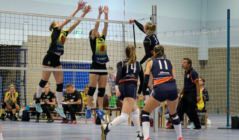<p>&bull; Volley Meerkerk&#39;95 dames 1 komt dit seizoen uit in de eerste divisie.</p>