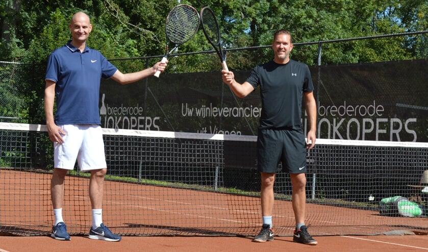 • Jeroen Hoeflaken en Sander Goldbach van LTV Vianen.