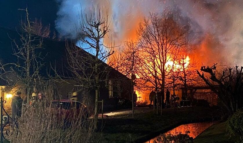 <p>• Grote schuurbrand in Polsbroek.</p>